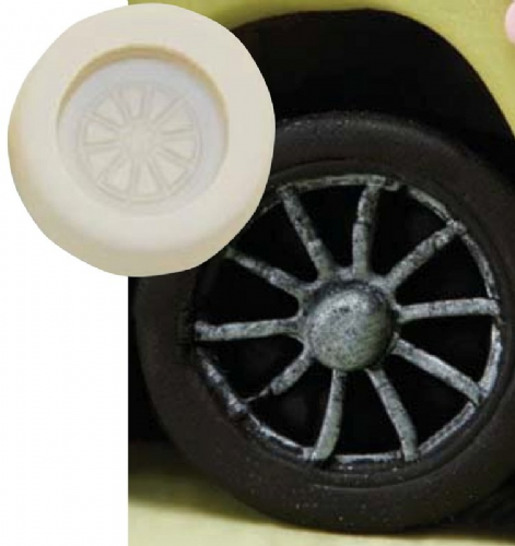 Silicone Small Wheel Mould